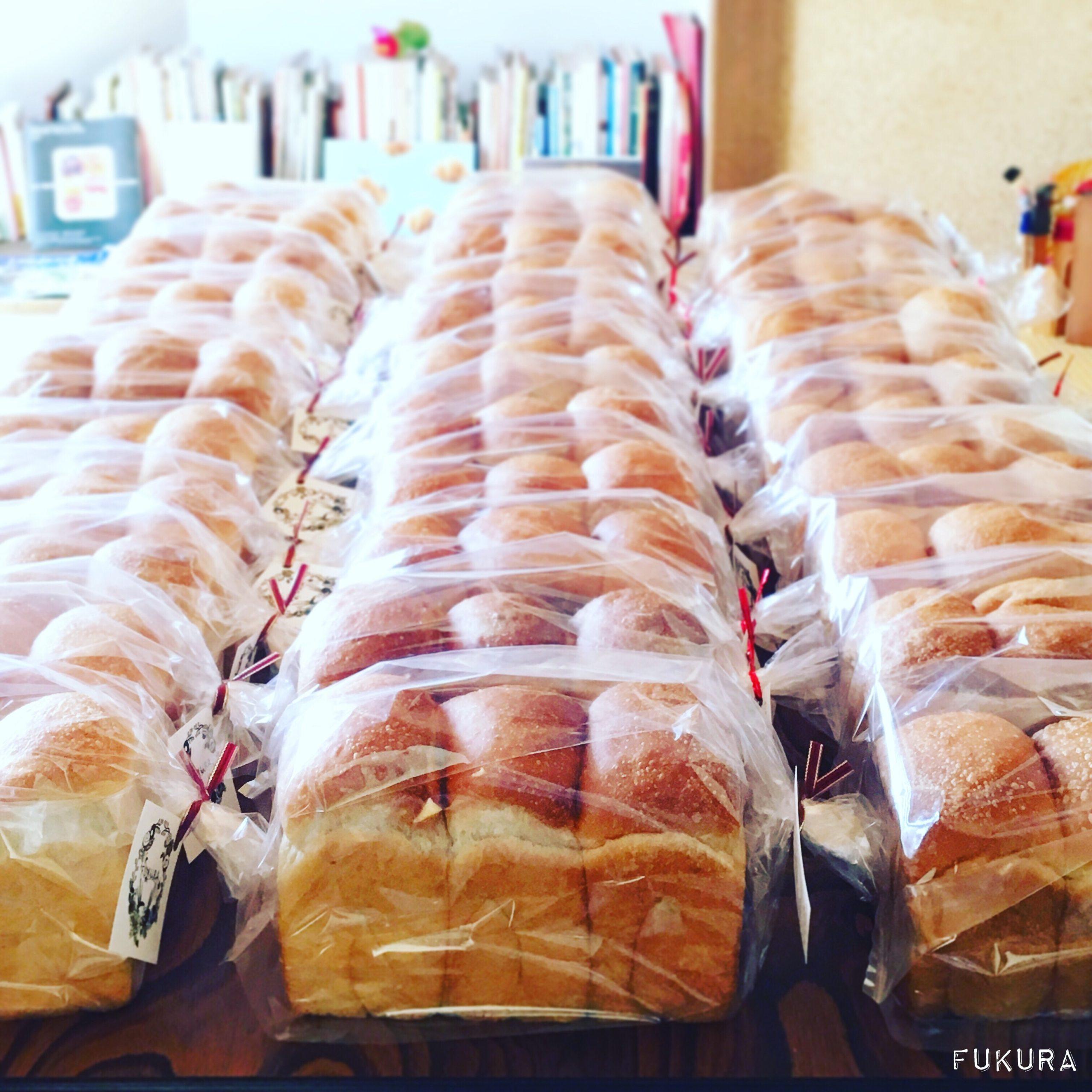 自家製いちご酵母の食パン30斤