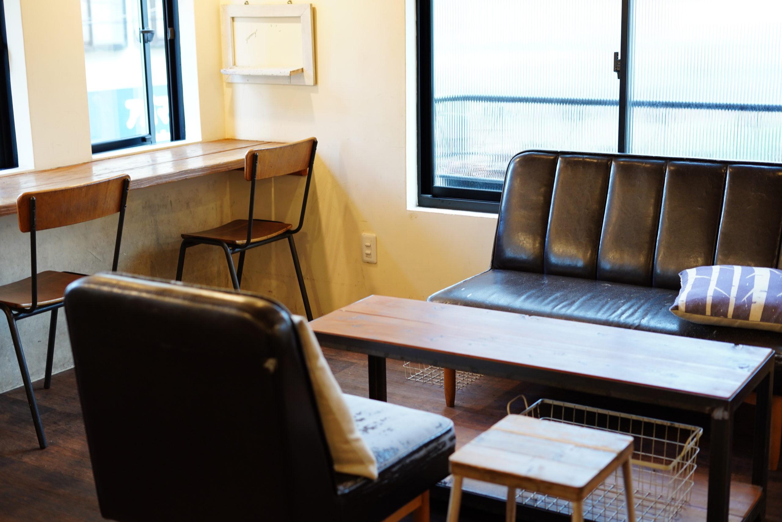 パンとカフェの店BRUNOさんのカフェスペース(ソファー)