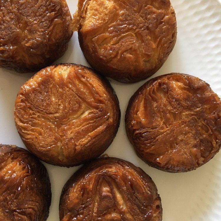 ドイツの小麦粉で作ったクイニーアマン