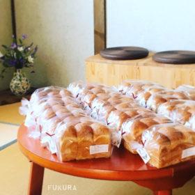 食べられない喫茶展の自家製いちご酵母食パン