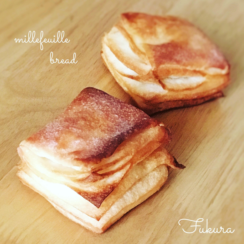 塩バターミルフィーユ