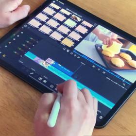 iPadでレシピ動画編集