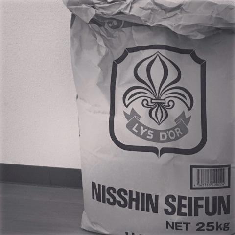 リスドオルの準強力粉25kgの袋