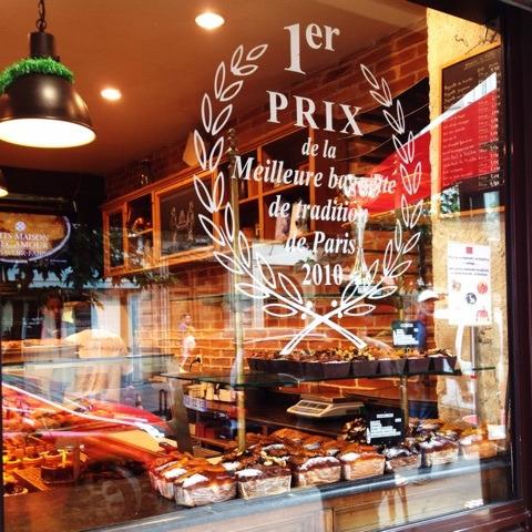 2010年バゲットコンクール優勝のパリのパン屋さん「ル・グルニエ・ア・パン」