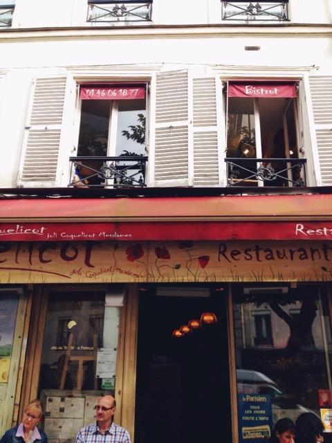 フランスパリ・モンマルトルのパン屋さん(コクリコ・デ・ザベス)